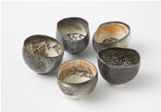 PRISCILLA MOURITZEN - Woodfired Pinch Pots